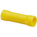 NSI B12-V-S Vinyl Insulated Butt Splice; 12-10 AWG, Yellow, 15/Pack