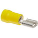 NSI F12-250-3V Female Disconnect Terminal; 12-10 AWG, 300 Volt, Yellow, 50/Pack