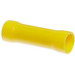 NSI B12-V Vinyl Insulated Butt Splice; 12-10 AWG, Yellow, 50/Pack