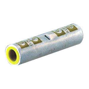 NSI ASC6T Dual Rated Standard Barrel Compression Splice; 6 AWG Aluminum/Copper, Gray
