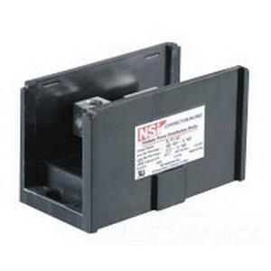 NSI AL-R1-M4 Connector Bloks™ Power Distribution Block; 600 Volt, 380 Amp Per Pole, Black