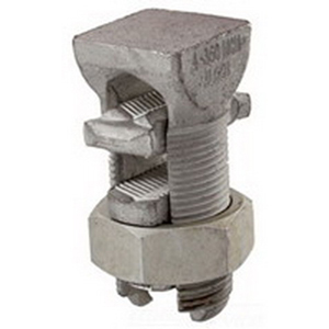 NSI APS04 Split Bolt Connector; 10 AWG Solid-4 AWG Stranded, 600 Volt, Aluminum Alloy