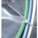 NSI 1450 Locking Cable Tie; 4 Inch Bundle Dia, 14.100 Inch Length, 50 lb Tensile Strength, Nylon, Natural