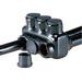 NSI IPLD3/0-3 Polaris™ Multi Cable Connector Block; 6-3/0 AWG, 3 Ports, 600 Volt, Plastisol, Black