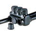 NSI IPLD3/0-3B Polaris™ Multi Cable Connector Block; 6-3/0 AWG, 3 Ports, 600 Volt, Plastisol, Black