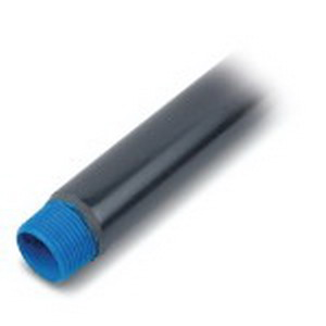 Ocal COND3/4-G Conduit Without Couplings; 3/4 Inch, 9 ft 11-1/4 Inch Length, Rigid Steel, 40 mil PVC Coated, Hot-Dip Galvanized