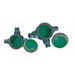 Robroy PMGUAX100 Perma-Cote GUAX Conduit Body; 1 Inch, Steel, Green/Gray