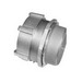 Topaz 268 Conduit Connector; 3 Inch, Compression, Malleable Iron