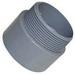 Topaz 1050B SCH 40 90 Degree Elbow; 6 Inch, Plain, PVC