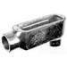 Topaz LB4M Type LB Rigid Conduit Body; 1-1/4 Inch, Threaded, Malleable Iron