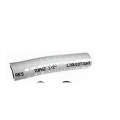 Topaz HF11 Top-Flex I Liquidtight Non-Metallic Flexible Conduit; 1 Inch, 100 ft Length, Rigid PVC