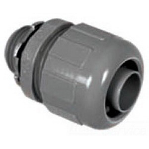 Topaz P471 Straight 125 Degree Component Type Liquidtight Connector; 1/2 Inch, Nylon 6/6