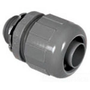 Topaz P476 Straight 125 Degree Component Type Liquidtight Connector; 2 Inch, Nylon 6/6