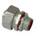 Topaz 472S Straight 125 Degree Component Type Liquidtight Connector With Insulated Throat; 3/4 Inch, Malleable Iron