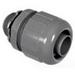 Topaz P473 Straight 125 Degree Component Type Liquidtight Connector; 1 Inch, Nylon 6/6