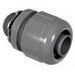 Topaz P474 Straight 125 Degree Component Type Liquidtight Connector; 1-1/4 Inch, Nylon 6/6