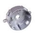 Topaz WRB1550B 4 Inch Round Weatherproof Box; 1.580 Inch Depth, Copper-Free Aluminum, 17.2 Cubic-Inch, Bronze
