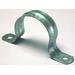 L.H. Dottie HW406 2-Hole Pipe Strap; 2 Inch, Zinc-Plated Steel