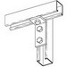 Cooper B-Line B103-ZN 90 Degree Corner Angle Bracket; Steel, (3) 9/16 Inch Hole Mounting