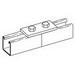 Cooper B-Line B129-ZN Splice Plate; Steel, (2) 9/16 Inch Hole Mounting