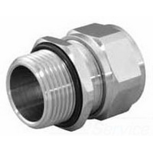 Appleton CG-87100S Cord Connector 1 Inch Threaded  0.875 - 1 Inch  Stainless Steel