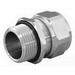 Appleton CG-87100S Cord Connector; 1 Inch Threaded, 0.875 - 1 Inch, Stainless Steel