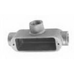 Appleton T39 Aluminum Unilet® Type T Conduit Body; 1 Inch, Form 9, Copper-Free Aluminum (4/10 of 1% Max.)