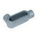 Appleton LB27 Unilet® Type LB Conduit Body; 3/4 Inch, Form 7, Threaded, Grayloy-Iron, Gray