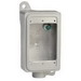 Appleton FD-1-50L-A Unilet® Deep Rigid Top 1-Gang FD Device Box; 2.690 Inch Depth, Copper-Free Aluminum, 25 Cubic-Inch, 1/2 Inch Hub