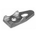 Appleton CLB-100MN 1-Hole Clamp Back; 1 Inch, Hot-Dip Galvanized, Malleable Iron
