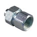 Appleton ST-50F ST Series Straight Liquidtight Connector; 1/2 Inch, Steel Body, Electro-Plated Zinc, Female