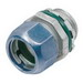 Bridgeport 253-RT2 EMT Compression Connector; 1-1/4 Inch, Die-Cast Zinc, Ball Burnished, Mirror Smooth