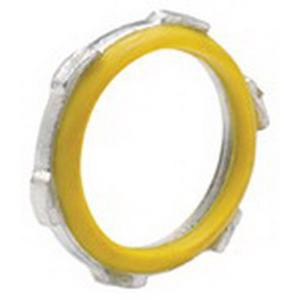 Bridgeport 144 Sealing Locknut; 1-1/4 Inch, Threaded, Steel