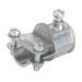Bridgeport 280-DC Combination Set Screw Coupling With Strap; 1/2 Inch, Die-Cast Zinc With Steel Strap