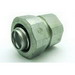 Bridgeport 4372-LT Liquidtight Combination Coupling; 1 Inch, Malleable Iron, Zinc Coated