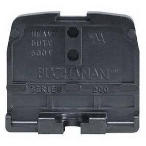 Buchanan 230 200 Series Heavy-Duty Terminal Block; 600 Volt, 35 - 85 Amp