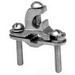 Hubbell Electrical / Burndy C11K16DRK Grounding Clamp; Bronze Alloy, Steel Hardware