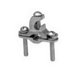 Hubbell Electrical / Burndy C11K16D Grounding Clamp With Lay-In; 3/8 - 1 Inch Rod, 1/2 - 1 Inch Pipe, #4 - #6 Rebar, Bronze Alloy, Silicon Bronze Hardware