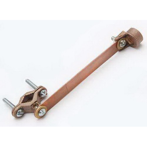 Hubbell electrical burndy c csh copper grounding clamp