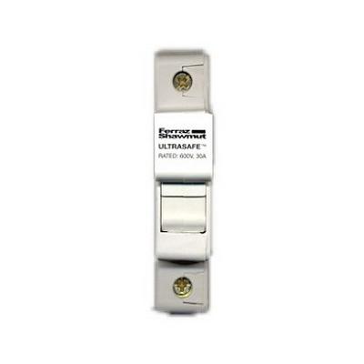Ferraz Shawmut USM1 Ultrasafe™ Modular Fuse Holder; 30 Amp, 600 Volt AC, 35 mm DIN-Rail Mounting