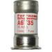 Ferraz Shawmut A6T35 Amp-Trap® Class T Fast-Acting Fuse; 35 Amp, 600 Volt AC/300 Volt DC