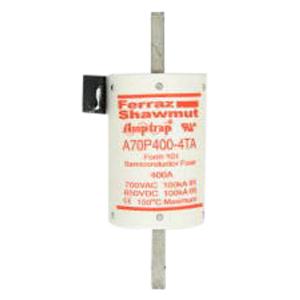 Ferraz Shawmut A70P400-4TA Amp-Trap 2000® Fast-Acting Blade Fuse; 400 Amp, 700 Volt AC/650 Volt DC
