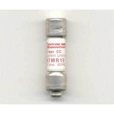 Ferraz Shawmut ATMR10 Amp-Trap® Class CC Fast-Acting Fuse; 10 Amp, 600 Volt AC/DC