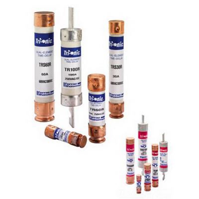 Ferraz Shawmut TR15R Tri-OniC® Class RK5 Time-Delay Fuse; 15 Amp, 250 Volt AC/160 Volt DC