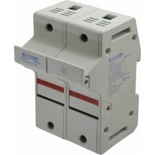 Ferraz Shawmut US6J2I Ultrasafe™ Modular Fuse Holder; 60 Amp, 600 Volt AC, DIN-Rail Mounting