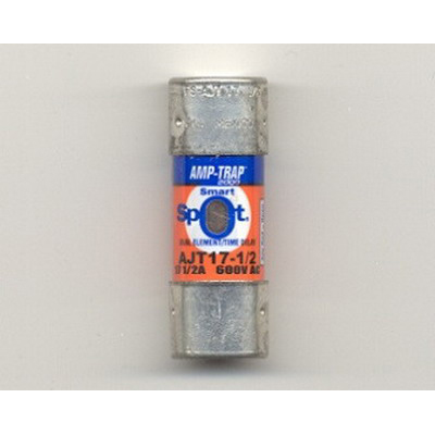Ferraz Shawmut AJT17-1/2 SmartSpot® Class J Time-Delay Fuse; 17-1/2 Amp, 600 Volt AC/500 Volt DC