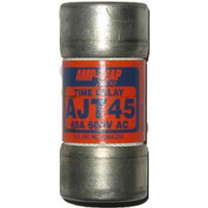 Ferraz Shawmut AJT45 SmartSpot® Class J Time-Delay Fuse; 45 Amp, 600 Volt AC/500 Volt DC