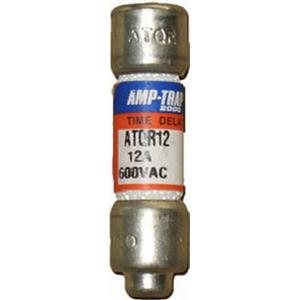 Ferraz Shawmut ATQR12 Amp-Trap 2000® Class CC Time-Delay Fuse; 12 Amp, 600 Volt AC/300 Volt DC