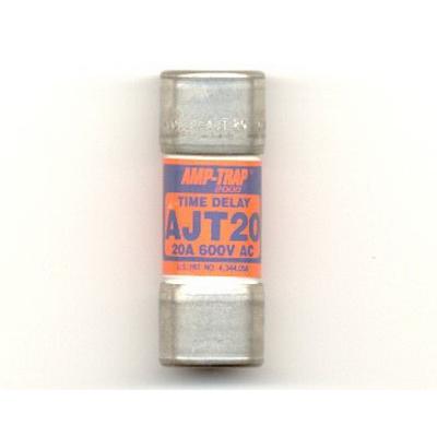 Ferraz Shawmut AJT20 SmartSpot® Class J Time-Delay Fuse; 20 Amp, 600 Volt AC/500 Volt DC