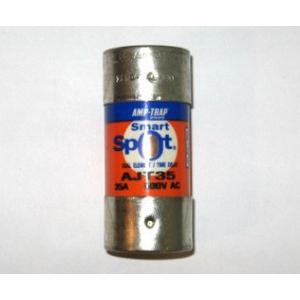 Ferraz Shawmut AJT35 SmartSpot® Class J Time-Delay Fuse; 35 Amp, 600 Volt AC/500 Volt DC